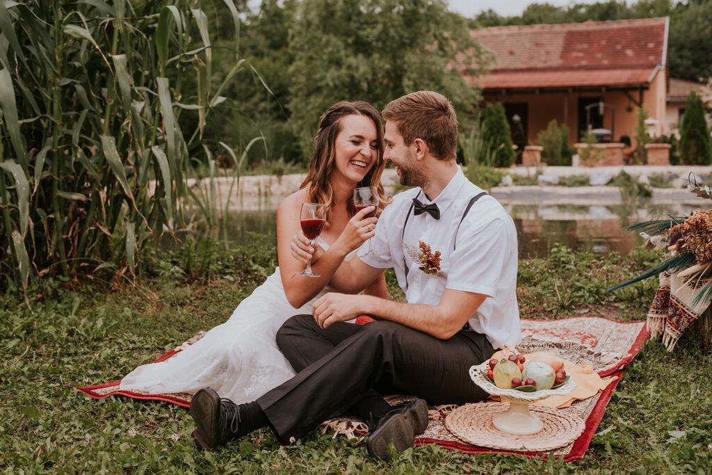 Bohém esküvő Debrecen