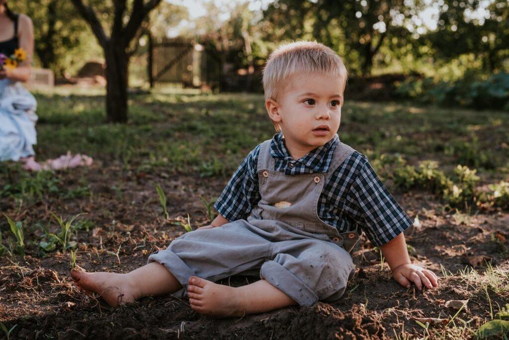 Családi fotózás gyermek portré